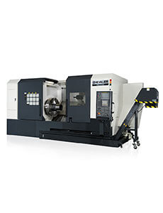 FBL-  500 Series (MC and L models) Slant-Bed Lathe With Box Ways