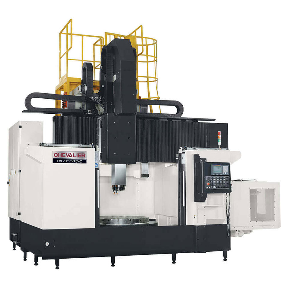 FVL-1250VTC VERTICAL TURNING CENTER