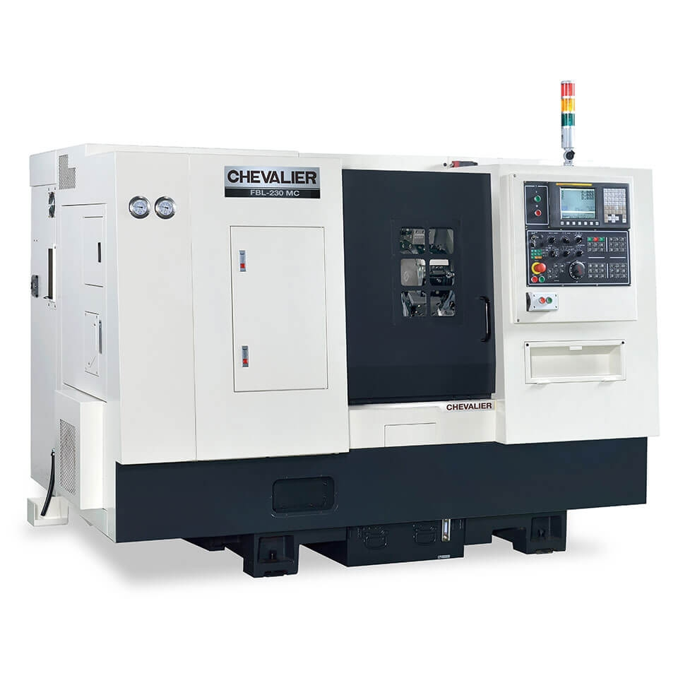 FBL-230 Series (ML and L models) Slant-Bed Lathe With Box Ways