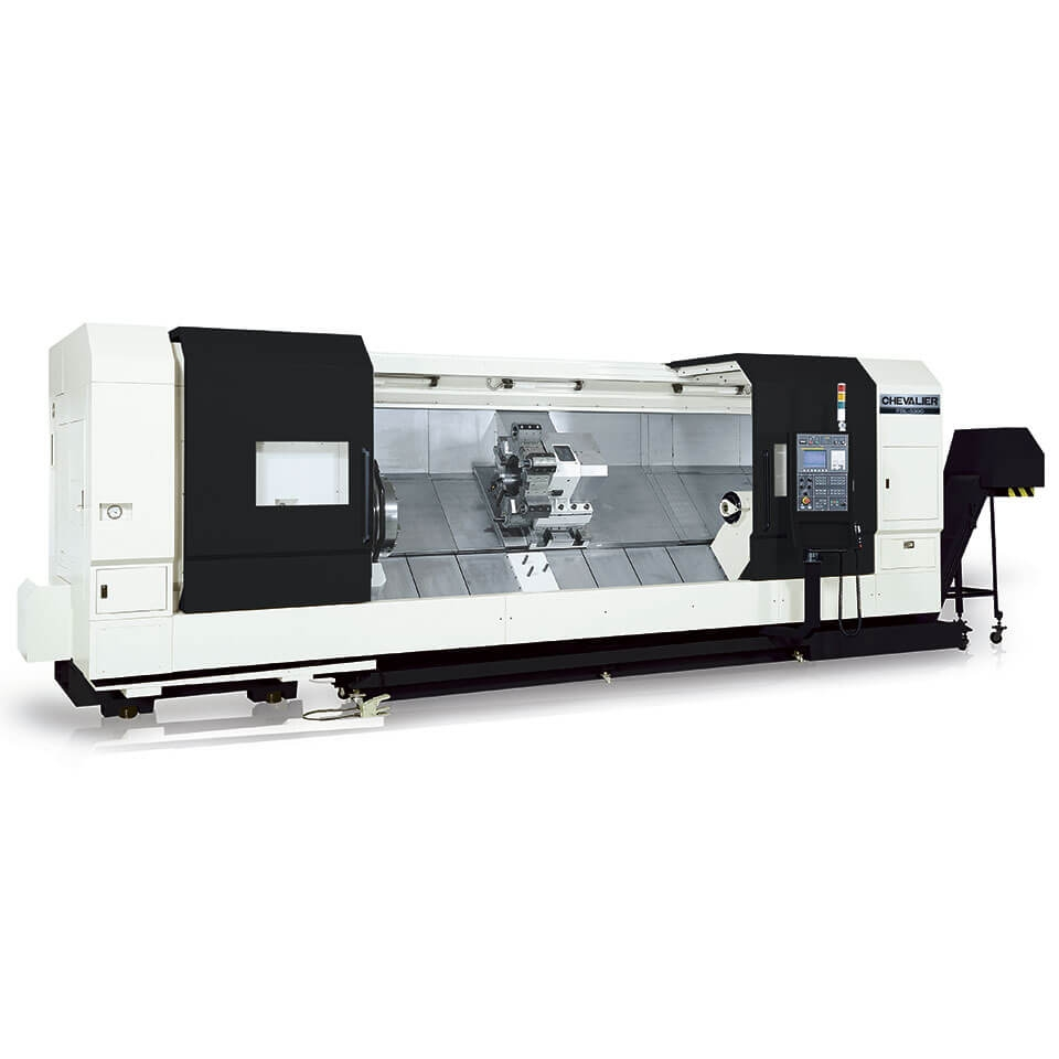 FBL-  530C Series (MC and L models) Slant-Bed Lathe With Box Ways