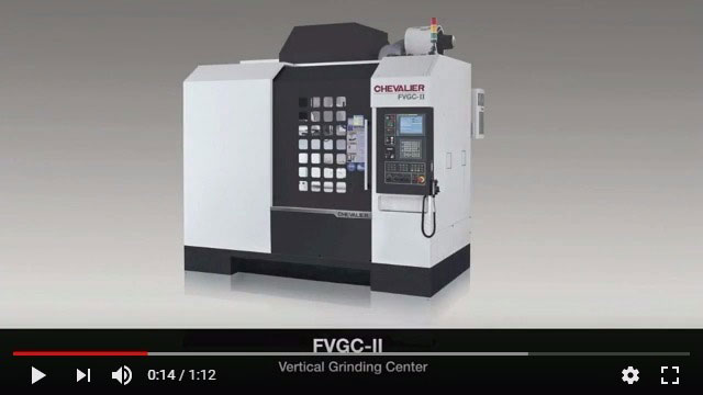 FVGC-II Vertical Grinding Center