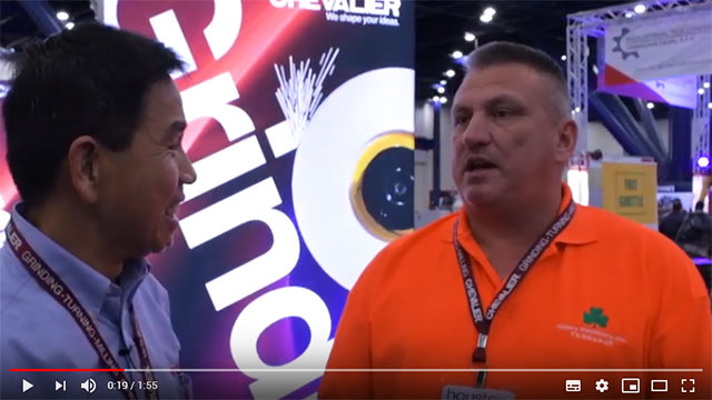 Johnson Lan Interview with Chris Pannell of Hillary at Houtex 2019