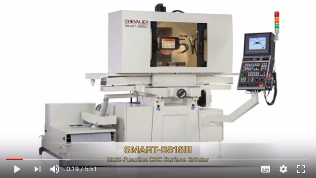 SMART-B818III Surface and Profile CNC Grinder