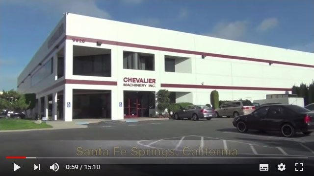 Chevalier Turning and Milling Corporate Video