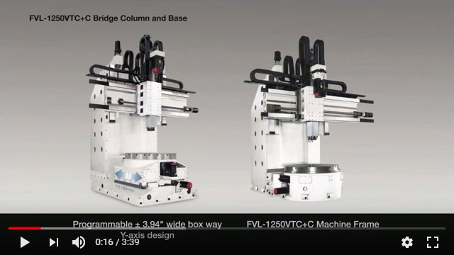 FVL-1250VTC+C Vertical Turning Lathe