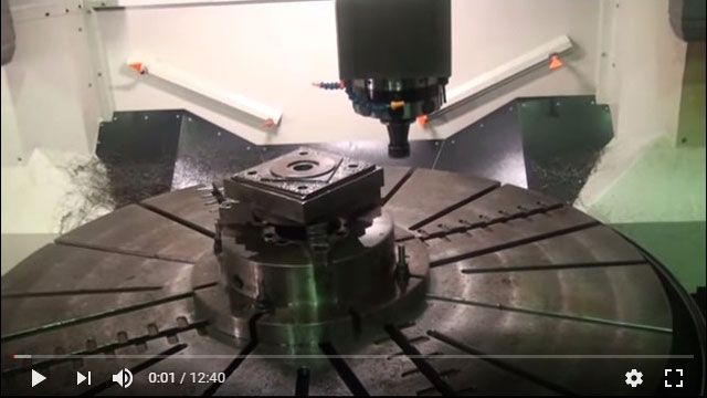FVL-2000VTC+C - VTL Milling With C-Axis
