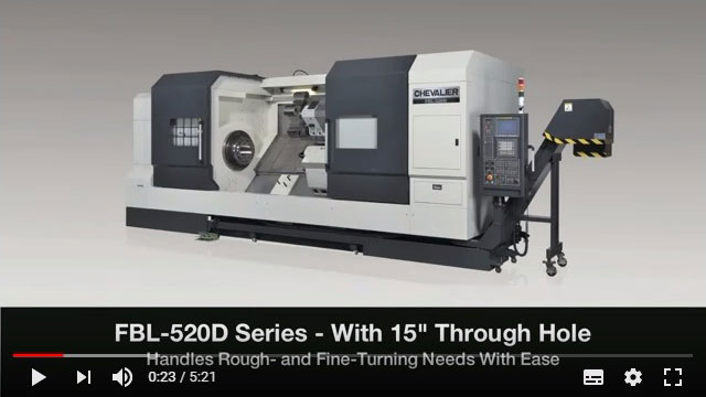 FBL-500 Series Heavy-Duty Horizontal Turning Lathe