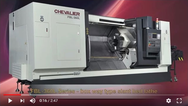 FBL-360 / 460 Box Way CNC Lathe