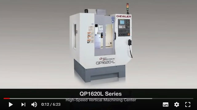 QP1620-L High-Speed Vertical Machining Center